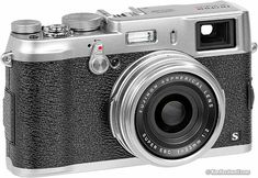 The Fuji A equivalent lens with an APS-C sensor. A great digital rangefinder that features a hybrid electronic and optical viewfinder. Fuji X100, Photography Gear, Photography Equipment, Fuji Mirrorless, Best Digital Camera, Digital Cameras, Pet Hammock, Fuji Camera, Indus