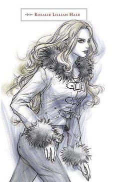 Rosalie Lillian Hale McCarty Cullen She did marry Emmett his last name is McCarty.