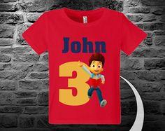 Daniel Tiger Birthday shirt Custom your name Custom por AGWebPrint