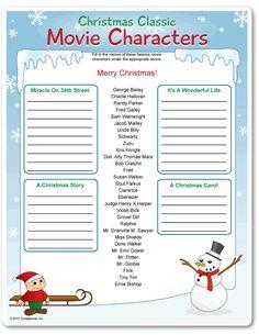 names of christmas movies