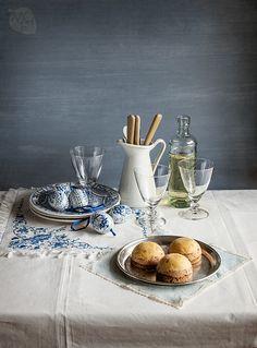 Pastelitos de foie con pan de especias, entrante navideño | Recetas con fotos paso a paso El invitado de invierno