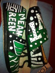 University of North Texas Toms by Karen Laughlin