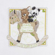 Baby Birth Announcements - Cross Stitch Patterns & Kits (Page 3)