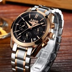 18.99$  Watch here - http://alibwi.shopchina.info/go.php?t=32799099420 - Reloj Hombre 2017 LIGE Fashion Chronograph Sport Mens Watches Top Brand Luxury Military Quartz Watch Clock Man Relogio Masculino 18.99$ #magazineonlinebeautiful
