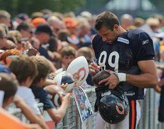 Chicago Bears Matt Spaeth :) My husbands cousin!