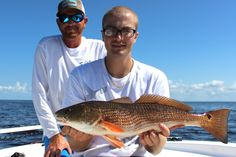 Lawrence with one of his catches from today.  #redfish #swfl #charlotteharbor