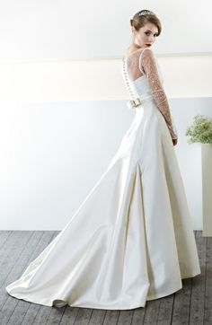 Abito da sposa modello Evelina - CieloBlu Sposa