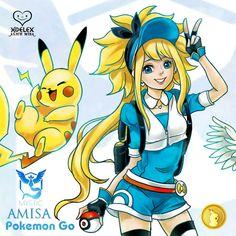 Pokemon Go Alice misA寶可夢(神奇寶貝)訓練師  算是小時候最喜歡看的寵物類型的卡通,後來長大後每一款電影版也是必看,雖然工作忙沒時間真的跑出去散步抓精靈們,乾脆宅在家用剩餘的時間來畫圖,讓AmisA愛米莎代替我去冒險~~美少女出動就很療癒~~~搭配可愛的皮卡丘~~哈  改天分享我國中畫的神奇寶貝手繪對戰漫畫  繪畫過程>> https://www.facebook.com/ALICEMISA/photos/?tab=album&album_id=1048907891844816  #AlicemisA心夢少女 #Dream夢想 #Music音樂 #hoelex浩理斯
