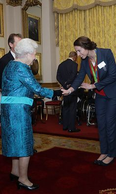 """The Queen, who previously praised the Team GB squad for the """"magnificent"""" performance in Rio, hosted a similar celebration after London 2012.<br><br>Photo: © PA"""