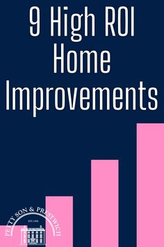 Making home improvements should be on every homeowner's to-do list, but the real question to ask is which home improvements will really move the needle in terms of the best return on investment? High ROI home improvements can have a dramatic impact on property prices, so now's the time to find out which ones you should tackle first! #homeimprovement #homeimprovements #returnoninvestment #diyhomeimprovements