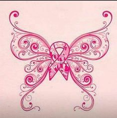 Breast Cancer Butterfly Tattoo Designs | Butterfly breast cancer tattoo. maybe to put on a shirt @J ... | TaTo ...