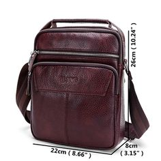 Genuine Leather Business Handbag Shoulder Crossbody Bag For Men is hot-sale, many other cheap crossbody bags on sale for men are provided on NewChic. Leather Fashion, Mens Fashion, Cheap Crossbody Bags, Laptop Bag, Bag Sale, Vintage Leather, Fashion Backpack, Fashion Accessories, Purses