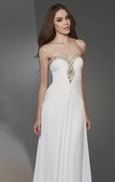 Elegant Sweetheart Gown by Bari Jay Shimmer 59844