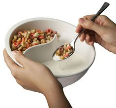 Cool! So your cereal doesn't get soggy!! #Genius