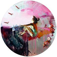Chloe Early's Sublime Oil Paintings Contrast Beauty and Destruction « Beautiful/Decay Artist & Design Art And Illustration, Portrait Illustration, Illustrations, Chloe, Kunst Online, Museum, Fine Art, Art Portfolio, Pretty Art