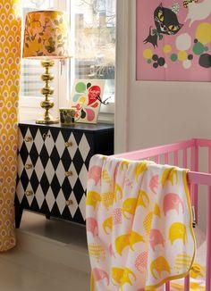 Elephant Set blanket from Littlephant. Design by Camilla Lundsten. #design #kids #blanket
