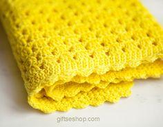 Crochet Baby Blanket Pattern for Beginners