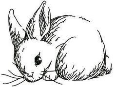 Lapin, dessin facile