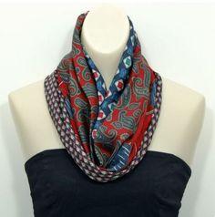 Turn coordinating neck ties into a cute infinity scarf . . . . . der Blog für den Gentleman - www.thegentlemanclub.de/blog