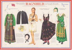 paper doll from Norway  Paper Dolls 001 Published March 5, 2013 at 2480 × 1752 in Norway Paper Dolls 001