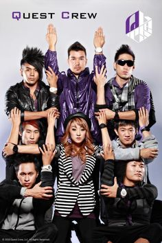 Again, i've never seen a Quest Crew pic on pinterest before so here's the first! The best dancing crew on earth!