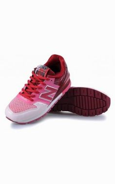 pretty nice 77136 8a24a Cheap New Balance 996 Shoes Womens Pink Red WhiteOutlet