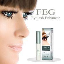 Nova marca FEG Erval de Chinês Maquiagem Poderosa Tratamentos Crescimento Dos Cílios Líquido Soro Potenciador Chicote Do Olho Mais Grosso alishoppbrasil