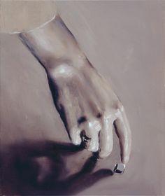 Michaël Borremans The Consequence 2001 42,0 x 50,0 cm oil on canvas