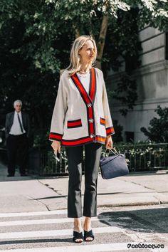 New York Fashion Week весна-лето 2018 - street style Мода Нью Йорка,  Весенняя 47f03c6b93f