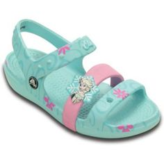 Crocs+Disney's+Frozen+Elsa+Kids'+Sandals