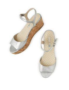 561f3c6c8b0c Sofia Wedge AR664 Heels at Boden Silver Sandals