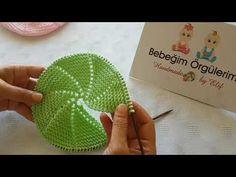 Knitting Designs, Crochet Designs, Knitting Patterns, Baby Hats Knitting, Lace Knitting, Knitting Videos, Knitting For Beginners, Knitted Booties, Beanie Babies