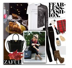 """""""Zaful 108"""" by melissa-de-souza ❤ liked on Polyvore featuring Paige Denim, Topshop, Kate Spade, Forever 21, Illamasqua, Bobbi Brown Cosmetics, Valentino and zaful"""