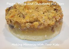 Making Memories ... One Fun Thing After Another: {Secret Recipe Club} Pecan Pie Bars