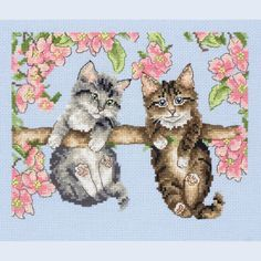 Hanging Around - counted cross stitch kit Coats Crafts