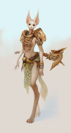 Image result for female sci fi ratfolk