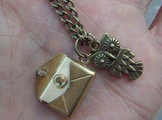 Harry Potter Post Necklace.