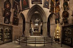 hogwarts castle interior | Harry Potter studio tour: How YOU can fly a broomstick and see all the ...