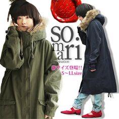 e532dbf7c2b17 特別な一着に♪絶対欲しい、理想のコート。『somariフェイクファードルマンロングモッズコート』 モッズコートレディースコートロングフェイクファーボアユニ  ...