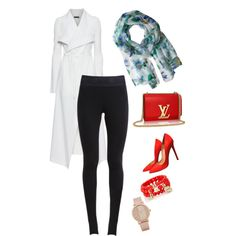 for working by irna-febriany on Polyvore featuring polyvore fashion style Plein Sud NIKE Christian Louboutin The Limited ALDO Echo Design