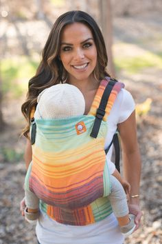 TULA Baby Carriers | Toddler Carriers — Full Toddler WC Carrier - Bay Bon Bon de Limon