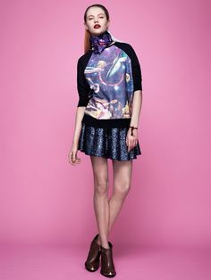 Rebecca's Pick: This Topshop sweatshirt is out-of-this-world.