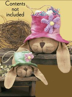 Easter Goodes - Fine Country Living Primitives - Primitive Colonial Country Home Decor