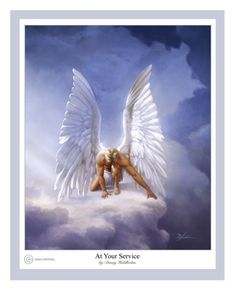 """Have no doubt. He gives his angels charge over you because He loves you! """"Danny Hahlbohm - At Your Service"""""""