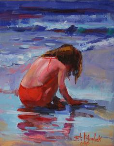 impressionist girl at beach - Google Search https://www.amazon.com/Painting-Educational-Learning-Children-Toddlers/dp/B075C1MC5T