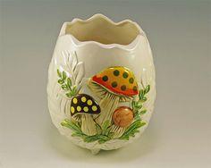 Sears Merry Mushroom Vase or Planter by PinkyLaRue on Etsy.