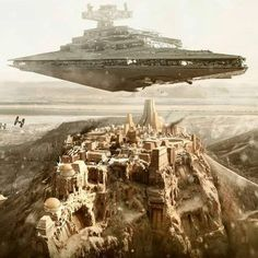image Star Wars Facts, Star Wars Humor, Lego Star Wars, Star Wars Rpg, Star Wars Fan Art, Star Trek, War Photography, Futuristic City, Futuristic Architecture