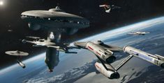 Starbase 23 by on DeviantArt Star Trek Wallpaper, Hits Close To Home, Binary Star, Star Trek Images, Sci Fi Spaceships, Ship Of The Line, The Valiant, Star Trek Tos, Star Wars