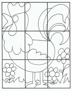 Crafts,Actvities and Worksheets for Preschool,Toddler and Kindergarten.Free printables and activity pages for free.Lots of worksheets and coloring pages. Puzzles Für Kinder, Preschool Puzzles, Easter Puzzles, Preschool Kindergarten, Jigsaw Puzzles For Kids, Wooden Puzzles, Worksheets For Kids, Activities For Kids, Puzzle Crafts