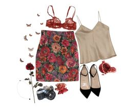 """""""you don't own me, don't try to change me in any way"""" by freckl-es ❤ liked on Polyvore featuring Etro, Christian Louboutin, Simone Perele and American Eagle Outfitters Summer Outfits, Cute Outfits, Fashion Outfits, Womens Fashion, Spring Summer Fashion, Dress To Impress, Fashion Looks, Style Inspiration, My Style"""
